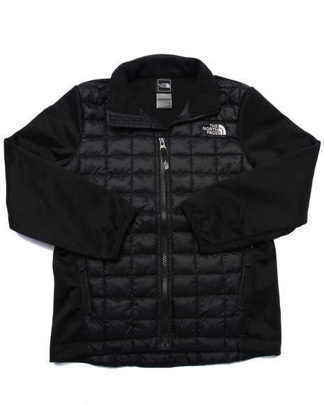 The North Face - Boys Black Thermoball Hybrid Jacket (5-20)