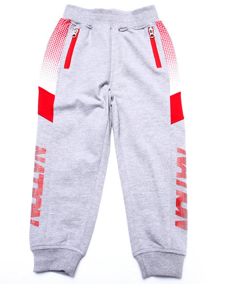 Parish - Boys Grey Half Tone Sweat Pants (4-7)