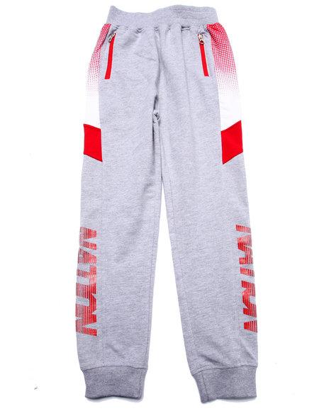 Parish - Boys Grey Half Tone Sweat Pants (8-20)