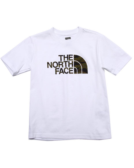 The North Face - Boys White S/S Half Dome Tee (5-20)