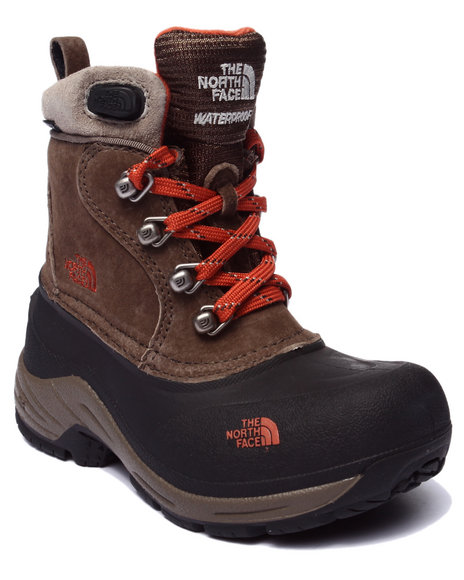 The North Face - Boys Brown Chilkat Lace Boots (11-7)