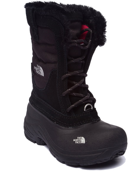 The North Face - Girls Black Shellista Lace Boots (11-6)