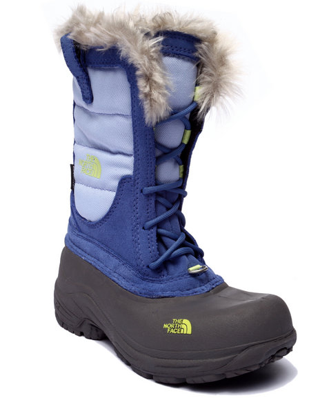 The North Face - Girls Blue Shellista Lace Boots (11-6)