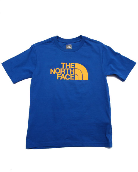 The North Face - Boys Blue S/S Half Dome Tee (5-20)