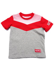 Parish - HALF TONE CUT & SEW TEE (2T-4T)