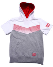 Hoodies - HALF TONE S/S HOODED PULLOVER (8-20)