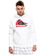 Men - Pixel kicks hoodie w/ Trans pocket