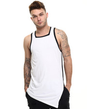 Shirts - Glitch Color Block Tank