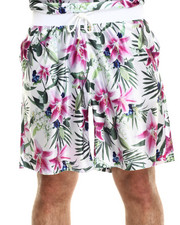 Joyrich - optical garden shorts