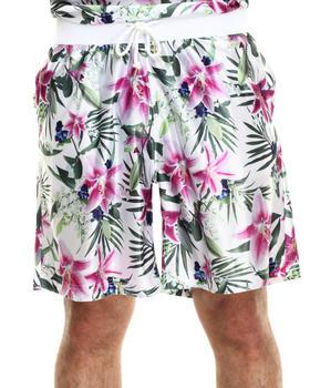Joyrich - optical garden shorts