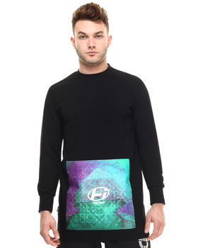Sweaters - Player Polygon Baseball Sleeve Sweater