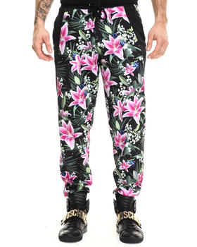 Joyrich - optical garden pants