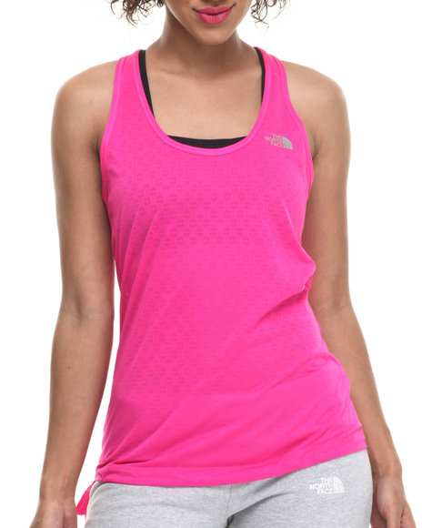 Ur-ID 215358 The North Face - Women Pink Eat My Dust Breathable Mesh Tank