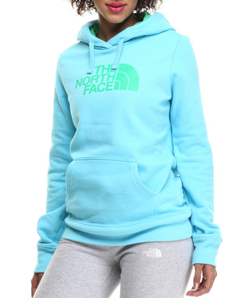 Ur-ID 215380 The North Face - Women Blue,Green Half Dome Hoodie by The North Face