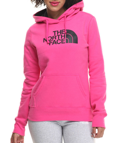 Ur-ID 215382 The North Face - Women Black,Pink Half Dome Hoodie