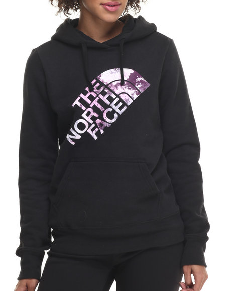 The North Face - Women Black Botanic Logo Pullover Hoodie