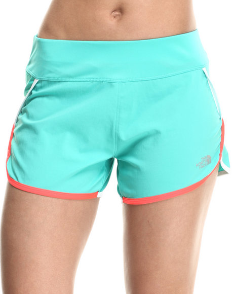Ur-ID 215371 The North Face - Women Green Flash Dry Tech Running Short
