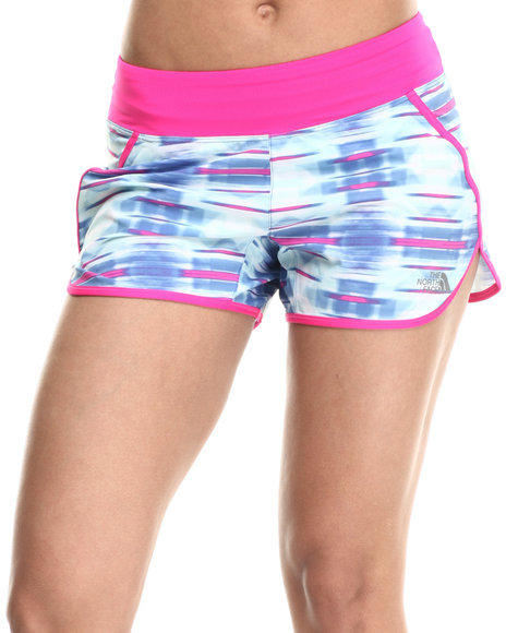 Ur-ID 215373 The North Face - Women Blue Eat My Dust Breathable Short