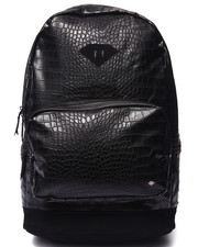 Men - Croc Vegan Leather Backpack