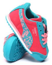 Puma - Roma Splatter Kids Sneakers (5-10)