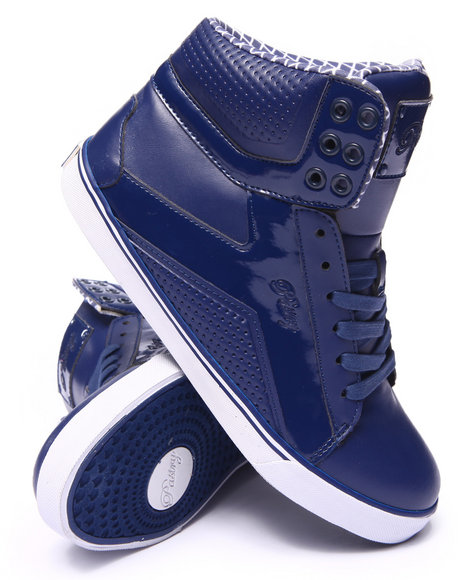 Pastry - Women Blue Pop Tart Sweet Crime Grid Sneaker