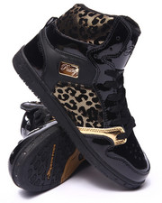 Women - Glam Pie Foil Cheetah Sneaker