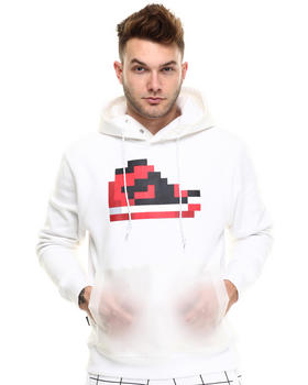Men - Pixel kicks hoodie w/ Trans pocket