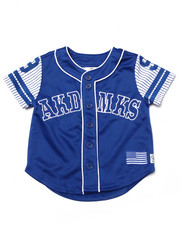 Sizes 4-7x - Kids - AKA BUTTON UP BASEBALL TEE (4-7)