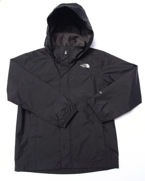 The North Face - Boys Black Resolve Reflective Jacket (5-20)