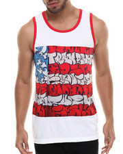 Men - Slick Flag Sublimated Tank