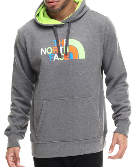 The North Face - Men Grey Half Dome Hoodie