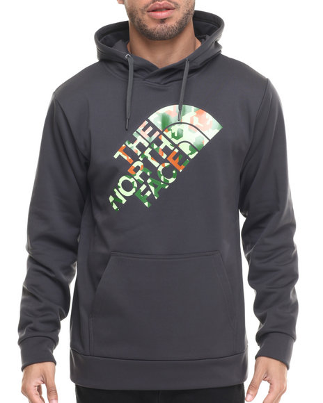 The North Face - Men Grey Camogo Surgent Pullover Hoodie