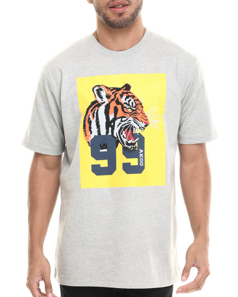 AKOO - Men Grey Tigers 99 Tee