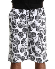 Men - Floral Printed Shorts