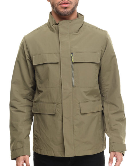 Ur-ID 215432 The North Face - Men Olive Mountain View Wind Jacket