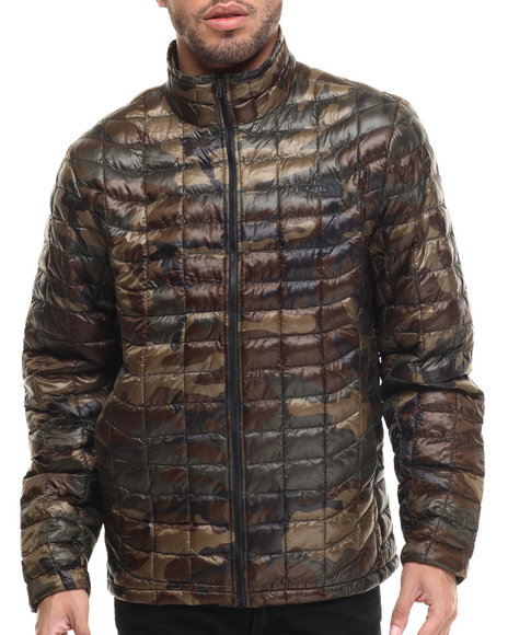 Ur-ID 215439 The North Face - Men Camo Thermoball Full Zip Jacket
