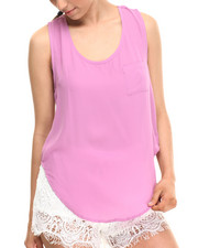 Tops - Tulip Back Chiffon Top