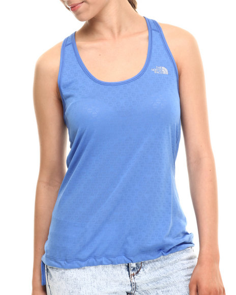 Ur-ID 215446 The North Face - Women Blue Eat My Dust Breathable Mesh Tank