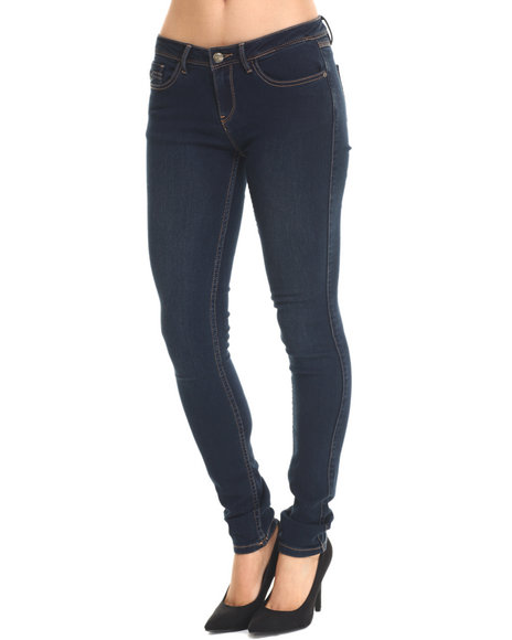 Bianco Jeans - Women Dark Wash Premium Stretch Skinny Jean