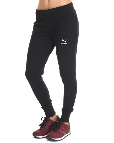 Ur-ID 215457 Puma - Women Black Slim Sweat Pants