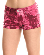 Fashion Lab - Cuffed Tie Dye Short