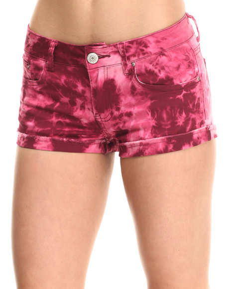 Fashion Lab Maroon Shorts