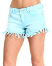Fashion Lab - Daisy Heavy Frayed Short
