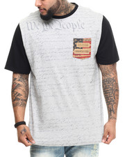 Men - Two Tone We The People Tee (B&T)