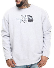 Pullover Sweatshirts - Half Dome Fleece Crew Sweatshirt (B&T)
