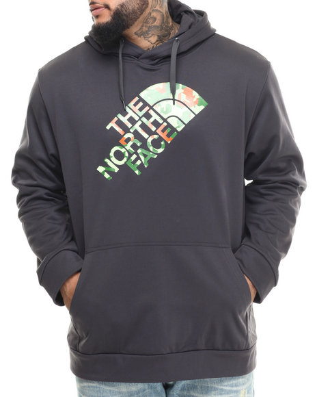 The North Face Men Camogo Surgent Pullover Hoodie (B&T) Grey 3X-Large