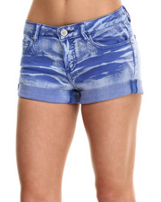 Fashion Lab - Roll Cuff Monkey Wash Short