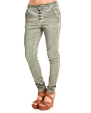 Bottoms - Premium Chino Boyfriend Skinny