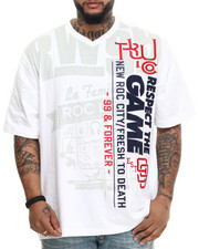 Rocawear - Multi-Art S/S V-Neck Tee (B&T)