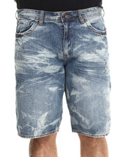 AKOO - Barricade Denim Shorts